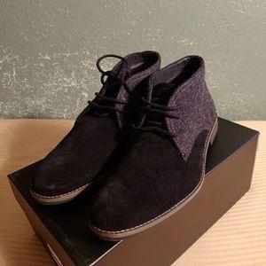 Alfani Suede Chukka boots Brand New with box.